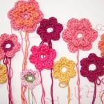 Blumen häkeln – ganz einfach!