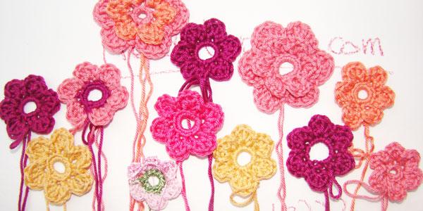 Blumen Häkeln Ganz Einfach Stricken Und Häkeln Mit Elizzza