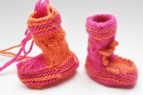 """Baby Booties """"Lily"""""""