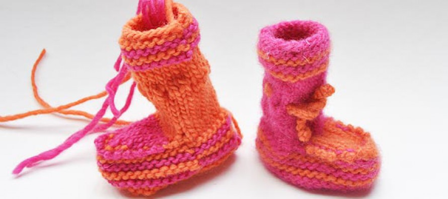 "Baby Booties ""Lily"""