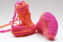"Baby Booties ""Lily"" 3 * Fußteil & Sohle"