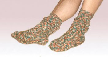 Manfred aus Wuppertal - toll, Dein erstes Sockenpaar!