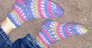 Julias erstes Sockenpaar von Pat