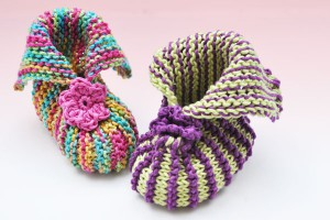 Babybooties &quot;Spring&quot; und &quot;Easter&quot;