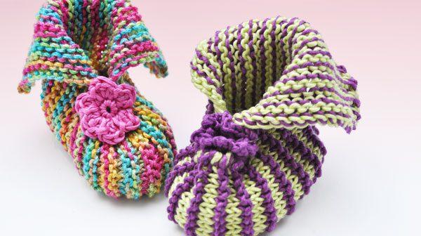 """Babybooties """"Spring"""" und """"Easter"""""""
