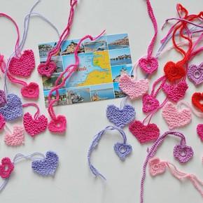 Bärbel's 36 Herzen aus der Normandie