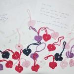 29 Herzen von Dorelies & Zeichnung von Veronika für Alice