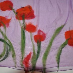 Fertiger Schal Rückseite