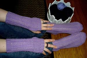 Handstulpen und Socken von Gittili