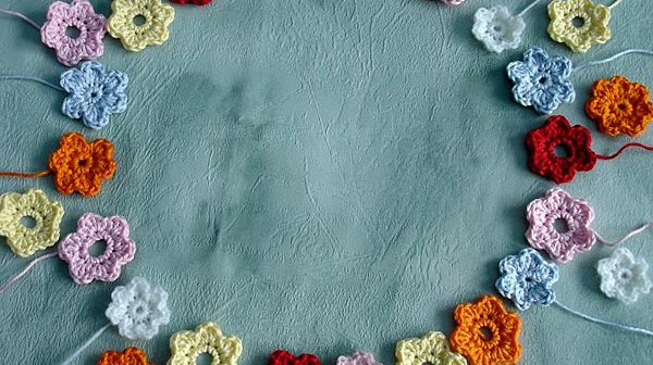Häkelblumen von Gittili
