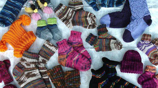 Socken über Socken von Gittili