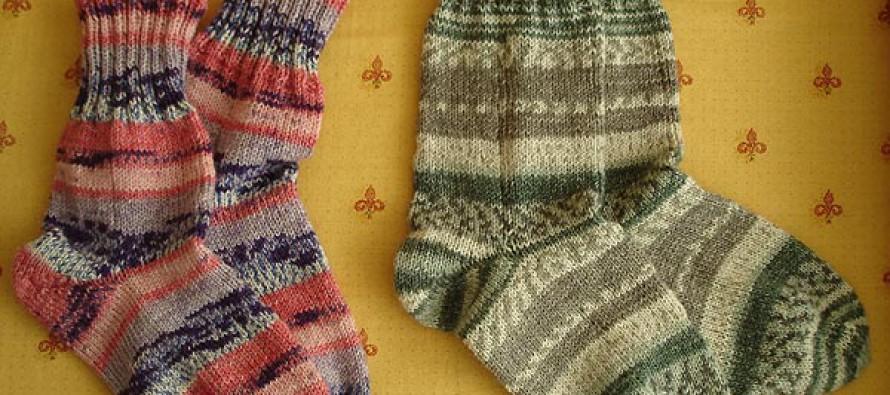 Die ersten Socken von GreenIvy