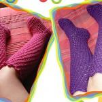 Gehäkelte Socken & Strümpfe