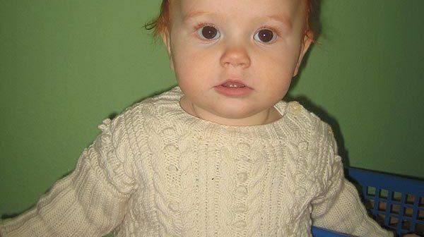 Babypullover von SaBiene
