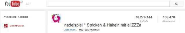nadelspiel YouTube Statistics