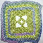 "1. Dezember * Granny Square ""Windows"""