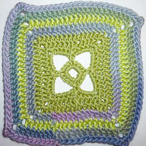 Granny Square &quot;Windows&quot;