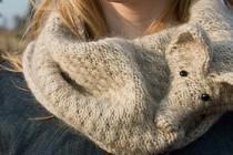 Tierfreundlicher Pelzkragen