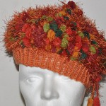 Baskenmütze aus Pomponwolle