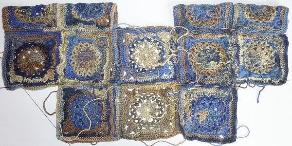 8 dezember granny square daisy stricken und h keln mit elizzza. Black Bedroom Furniture Sets. Home Design Ideas