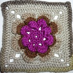 "23. Dezember * Granny Square ""Irish Rose"""