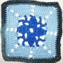 16. Dezember * Granny Square &#8220;Saphir&#8221;