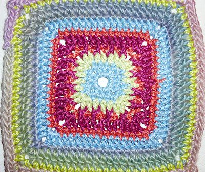 "Granny Square ""Freestyle"""