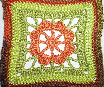 "Granny Square ""Sunday"""