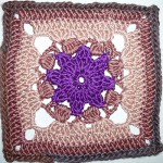 "17. Dezember * Granny Square ""Purple Star"""