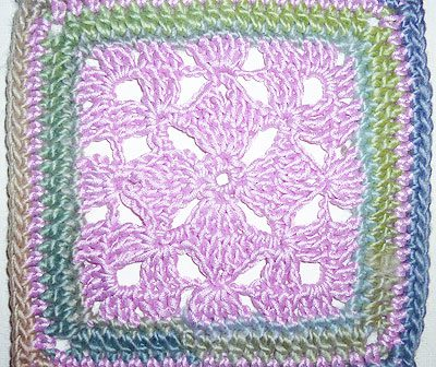 "Granny Square ""Diamond"""