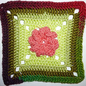 Granny Square &quot;PowerFlower&quot;