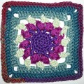 19. Dezember * Granny Square &#8220;Sunflower&#8221;