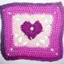 24. Dezember * Granny Square &#8220;Love&#8221;