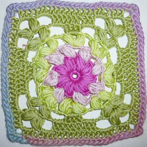 Granny Square &quot;Dahlia&quot;