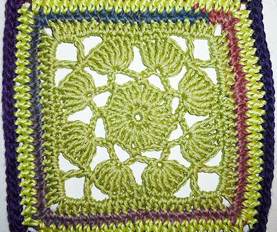 "Granny Square ""Lotus"""
