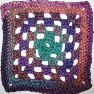 "Granny Square ""Joker"""