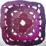 20. Dezember * Granny Square &#8220;Mandala&#8221;