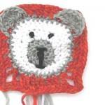 Granny Square Teddy Bär