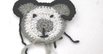 Häkelmotiv Teddybär