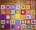 Häkeln: Granny Squares für Lila