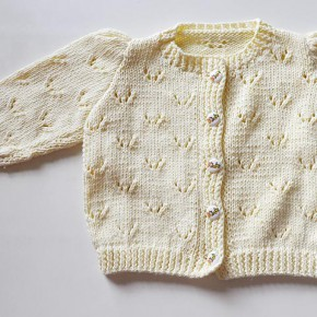 stricken-kinderjacke-ajourmuster