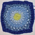 "Häkelanleitung für Granny Square ""Circle of Friends"""