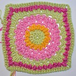 Häkeln: Granny Square Circle of Friends