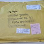 Briefpäckchen an Nadrine, heute retour
