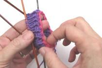 Socken stricken * Sockenkurs #3 * Italienischer Anschlag auf Luftmaschenkette
