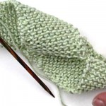 Stricken: Super Easy Spiralschal * Franky's Folded Scarf