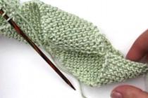 Stricken: Super Easy Spiralschal * Franky's Folded Scarf