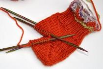 Socken stricken * Sockenkurs #8 * Bumerangferse 1
