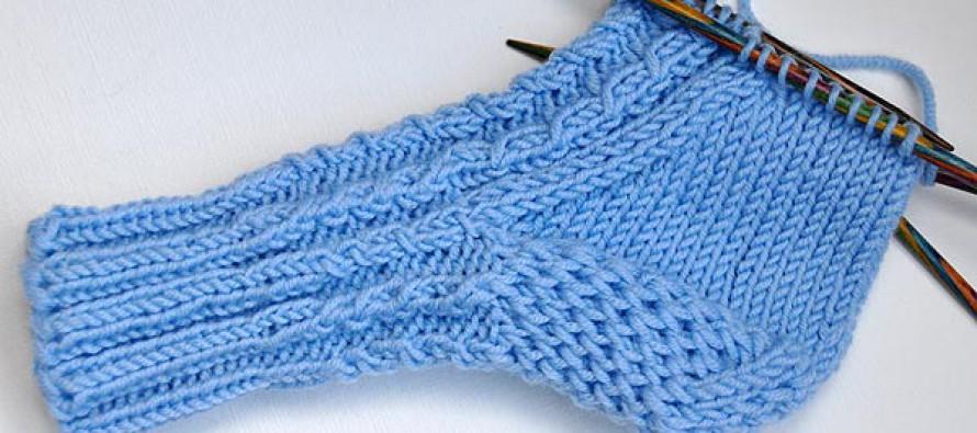 Socken stricken * Sockenkurs #7 * Klassische Ferse verstärkt