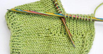 Socken stricken * Käppchenferse